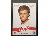 DEXTER SEASON 2 DVD - USED - EXCELLENT CONDITION