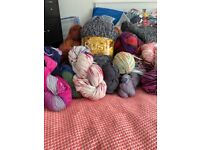Clear out of yarn/wool