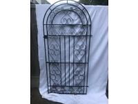 WROUGHT IRON GATE.