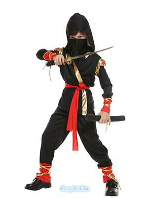 F4-3 Boys Kids Stealth Ninja Book Week Costume - Costumes 4 U