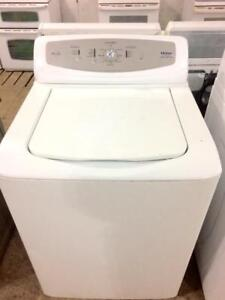 Haier Top Load Washer, Super Capacity, Stainless Steel Drum