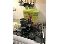 Nutribullet for sale hardly used £45 ono
