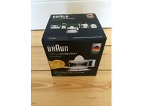 Braun Orange / Citrus Juicer *NEW & UNUSED*