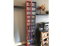 Shelving Unit for CD's/DVD's - Ikea Gnedby in excellent condition