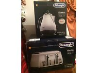 Delonghi Micalite Kettle And Toaster (new boxed)