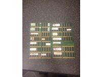 Job Lot Of DDR RAM