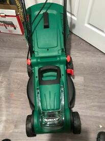 Qualcast 36v cordless rotary lawnmower used twice