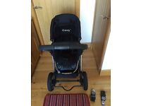 Icandy Apple 3 in 1 travel system carrycot buggy & maxicosi