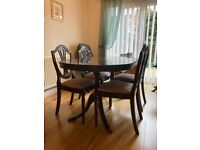Strongbow Dining Table & Chairs