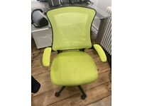 Green Office Desk Chair - 7 Available!