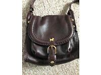 Genuine Small Real leather Radley handbag bag