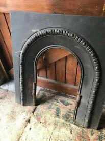 Old fire surround