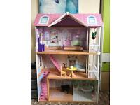 Doll House & Doll House furniture for sale £25.00