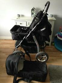 Pram and carry cot