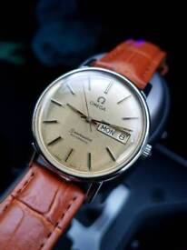 Vintage omega seamaster gents automatic watch Rare