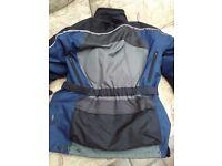 Frank Thomas Aquapore motorcycle jacket. Medium (42 inch chest)