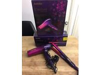 Babyliss Ombre Hair Straightners & Blowdryer Complete Set Brand New Boxed Rrp £140