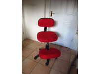 Posture Chair. Good condition but has to go.