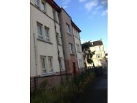 ONE BEDROOM FLAT TO RENT IN LADYBURN STREET PAISLEY UNFURNISHED £350.00 PCM