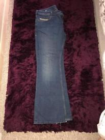 Diesel men's boot cut jeans