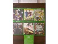 Xbox One 500GB with Kinect + Games