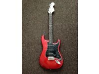 Squier Affinity Stratocaster HSS Electric Guitar pack with Amp