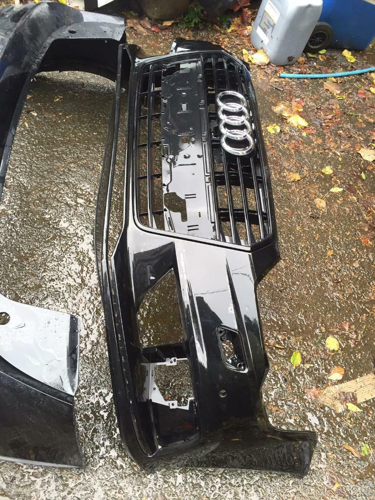 Genuine 2016 Audi A7 s line genuine front bumper and grill can post