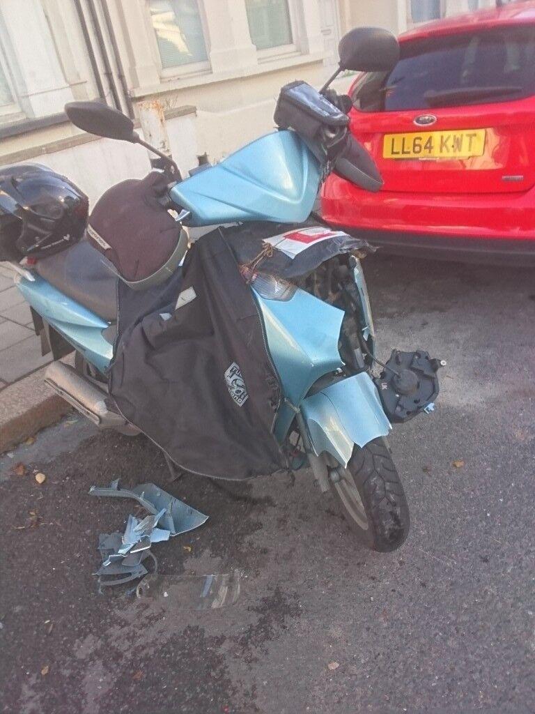 Honda Dylan SES125 damaged