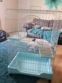 large rat or chinchilla /ferret cage