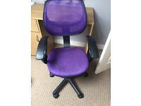 Child desk chair