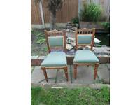 6 dineing chairs
