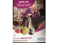 Pdsa Retail Shop Volunteers wanted!