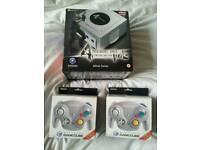 Sealed Resident Evil 4 Gamecube console & 2 new boxed Japanese Wavebird