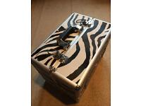 Zebra print case (medium)