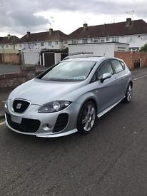 SEAT LEON FR 2.0 TDI BTCC BODY KIT DUAL EXHAUST SYSTEM! CRUISE CONTROL SUNROOF AUTO MIRRORS MUST SEE