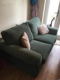 Green sofa bed - £80