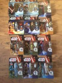 Star Wars figures x12 brand new and sealed