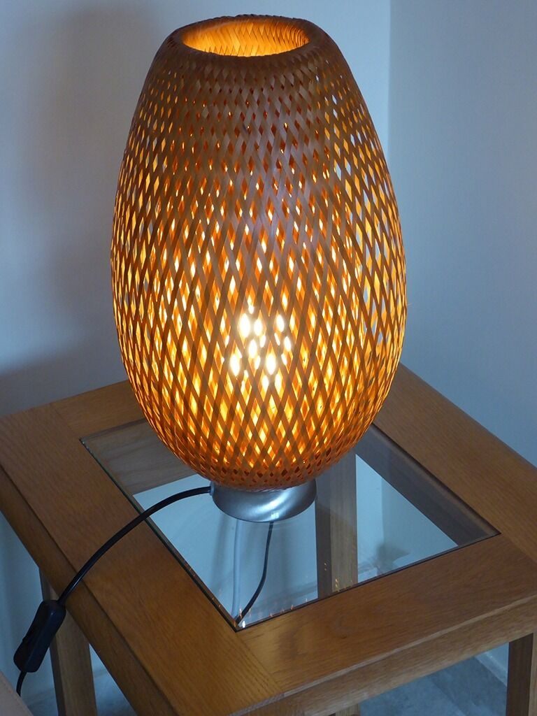 ikea wicker table lamp buy sale and trade ads great prices. Black Bedroom Furniture Sets. Home Design Ideas