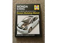 Haynes Manual Honda Civic