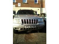 Grand Cherokee Jeep CRD Limited 2.6 Auto Diesel