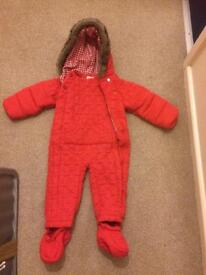 Brand new snow suit 12-18 months
