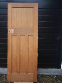 Internal solid hardwood door