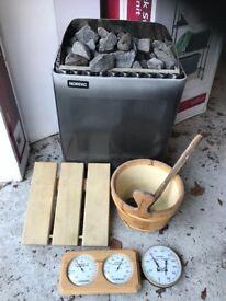 Sauna Heater and Accessories