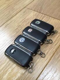 VW -SKODA- SEAT -AUDI BENTLEY STYLE FLIP KEYS CUT & PROGRAMMED MK4 GOLF MK5 GOLF BORA PASSAT