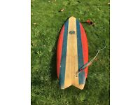 Surfboard Roger Cooper Classic 1980's Twin Fin Thruster