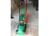 Qualcast mower and strimmer