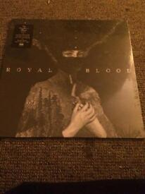 ROYAL BLOOD LP RECORD ALBUM HMV EXCLUSIVE VERY RARE ONLY 2000 MADE NUMBERED 1895 SEALED MINT