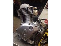 yamaha 125 engine electric start