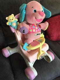 Baby's walker pushchair and toy