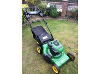 John Deere jm36 Self Propelled Petrol Lawnmower 3in 1lawn mower